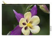 Aquilegia   Columbine  Flower Carry-all Pouch