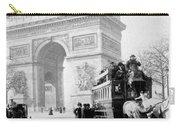 Arc De Triomphe - Paris France - C 1898 Carry-all Pouch