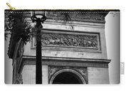 Arc De Triomphe - Black And White Carry-all Pouch