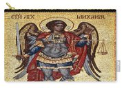 Archangel Michael Mosaic Carry-all Pouch