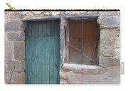 Arched Stone Work Over Door Carry-all Pouch