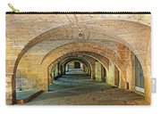 Arched Walkway In Provence Carry-all Pouch