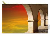 Arches At Sunset Carry-all Pouch by Carlos Caetano