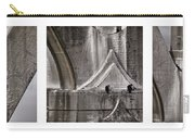 Architectural Detail Triptych Carry-all Pouch