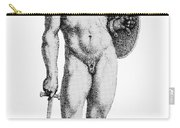 Ares, Greek God Of War Carry-all Pouch by Photo Researchers