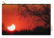 Arizona Eclipse At Sunset Carry-all Pouch