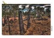 Arizona Fence And Desert Carry-all Pouch