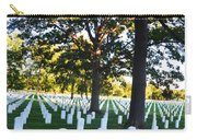 Arlington Cemetery Graves Carry-all Pouch
