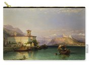 Arona And The Castle Of Angera Lake Maggiore Carry-all Pouch
