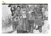 Arresting A Witch, 1692 Carry-all Pouch by Granger
