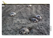 Arribada Of Olive Ridley Turtles, Costa Carry-all Pouch