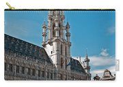 Art Reflecting Art In Brussels Carry-all Pouch