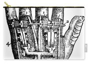 Artificial Hand Designed By Ambroise Carry-all Pouch