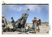 Artillerymen Fire-off A Round Carry-all Pouch