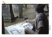 Artist At Ankor Wat Carry-all Pouch