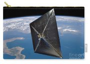 Artist Concept Of Nanosail-d In Space Carry-all Pouch