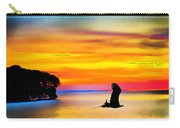 Artistic Conception Eagle Sundown Carry-all Pouch