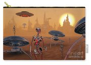 Artists Concept Of Life On Mars Long Carry-all Pouch