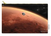 Artists Concept Of Nasas Mars Science Carry-all Pouch
