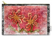 Artsy Daisies Carry-all Pouch