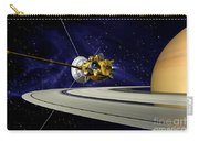 Artwork Of Cassini During Soi Maneuver Carry-all Pouch