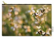 Arugula Flowers Carry-all Pouch