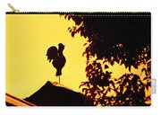 As A Rooster Crows Carry-all Pouch by Carolyn Marshall
