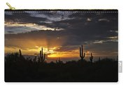 As The Sun Sets In The West  Carry-all Pouch