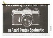 Asahi Pentax Spotmatic Carry-all Pouch