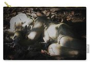 Asleep In The Leaves Carry-all Pouch