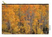 Aspen Forest In Fall - Wasatch Mountains - Utah Carry-all Pouch