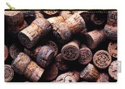 Assorted Champagne Corks Carry-all Pouch by Garry Gay