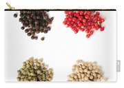 Assorted Peppercorns Carry-all Pouch by Elena Elisseeva