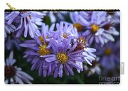 Aster Dew Drops Carry-all Pouch