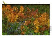 Asters And Ferns Carry-all Pouch