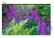 Astilbe And Ferns Carry-all Pouch