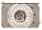 Astrologer In The Zodiac Carry-all Pouch by Science Source