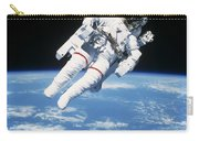 Astronaut Floating In Space Carry-all Pouch