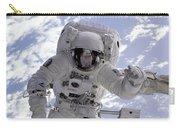 Astronaut Gernhardt On Robot Arm Carry-all Pouch