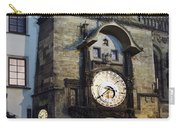 Astronomical Clock At Night Carry-all Pouch