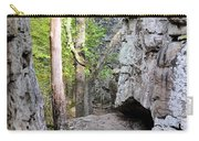 At A Cliff's Edge Carry-all Pouch