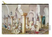 At Prayer In The Mosque Carry-all Pouch