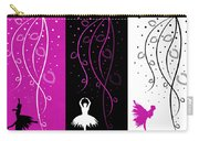 At The Ballet Triptych 2 Carry-all Pouch