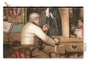 At The Pawnbroker Carry-all Pouch by Thomas Reynolds Lamont