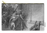 Athaliah (d. 836 B.c.). /nqueen Of Judah, C842-836 B.c. The Death Of Athaliah (ii Chronicles 22:10, 23:15). Wood Engraving, 19th Century, After Gustave Dor� Carry-all Pouch