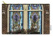 Athens Alabama First Presbyterian Church Stained Glass Window Carry-all Pouch