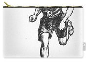 Athletics: Runner, C1900 Carry-all Pouch