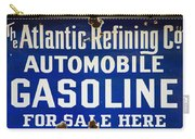 Atlantic Refining Co Sign Carry-all Pouch