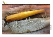 Atom A40 Vintage Saltwater Lure - Whiting Gold Carry-all Pouch