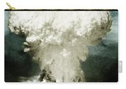 Atomic Bombing Of Nagasaki Carry-all Pouch